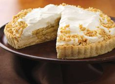 Banana and Peanut Butter Cream Pie