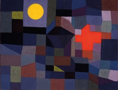 Image result for paul klee fire in the evening