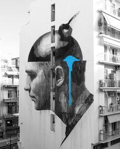 INO  .. 'Mind Control' ..  [Athens, Greece 2017] (close up)