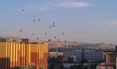 Hot-air Balloon races