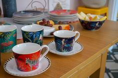 How to Hold a Brunch Party with Portmeirion - Love Chic Living Portmeirion Uk, Bowl Cake, Brunch Party, Meat And Cheese, Small Plates, Fine Porcelain, Cup And Saucer, Dinner Plates, Afternoon Tea