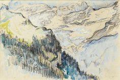 Le Mont Blanc vu de Sallanches