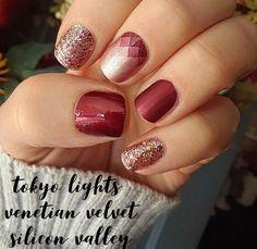 25 Glam Ideas For Ombre Nails - Nail Designs Nail Polish Strips, Nail Polish Colors, Cute Nails, Pretty Nails, Hair And Nails, My Nails, Pink Manicure, Mani Pedi, Nail Time