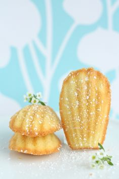 Lemon and Brown Butter Madeleines