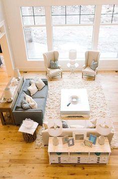 Light-filled living rooms: 40 Absolutely brilliant ideas #LivingRoomFurnitureLayout