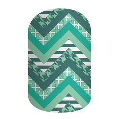 Pattern Envy | Jamberry Take a walk on the wild side with this month's Sisters' Style, 'Pattern Envy'. Featuring a unique patterned chevron, in shades of teal and green, this matte-finish nail wrap packs plenty of personality! Pair 'Pattern Envy' with any of our St. Patrick's Day designs for a festive, pinch-proof mani or pair with a floral print, lacquer or gel for a look that's fun and flirty.