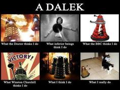Oh, the neverending war between those in the last one. One is the most dangerous and feared thing in all of cosmos who can take over our world. The other is a dalek.