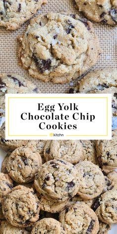 I Didn't Need Another Chocolate Chip Cookie Recipe. Then I Baked This One. Finger Desserts, Cookie Desserts, Just Desserts, Cookie Recipes, Delicious Desserts, Dessert Recipes, My Favorite Food, Favorite Recipes, Dark Chocolate Recipes