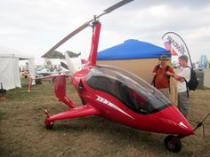 This Austrian all-carbon-fiber gyroplane with an enclosed cockpit is called the Arrow Copter. It cruises at 103 mph on its Rotax 912 iS (a new model also introduced at the show), but can also mosey along at just 18 mph—the perfect vehicle in which to show up at your high school reunion.   - PopularMechanics.com