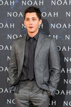 """Logan Lerman attends the European premiere of """"Noah"""" at the Berlin Zoo Palast in Berlin, Germany - March 13th, 2014"""