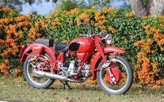1953 Moto Guzzi Airone Sport. * Motorcycle Store, Motorcycle News, Moto Guzzi Motorcycles, Eagle Emblems, Old Bikes, Dirt Bikes, Bike News, Honda Cb750, 50cc