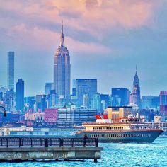 The skyline of New York is a monument by @gigi_nyc #newyorkcityfeelings #nyc #newyork