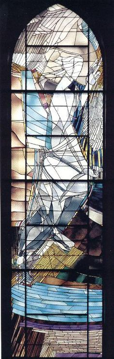 Stained glass - Georg Meistermann (1911-1990), Designed in 1965.