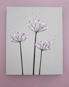DIY Dandelion Wall Art