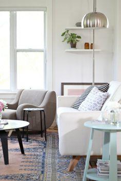 Cute simple living room.