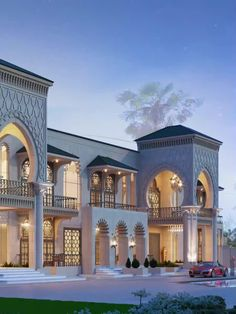 Classic House Exterior, Classic House Design, Modern House Design, Mansion Interior, Dream House Interior, Luxury Homes Dream Houses, Architecture Design, Classical Architecture, Beautiful Architecture