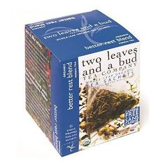 Two Leaves and a Bud Organic Better Rest TeaTea Bags 15Count Box >>> Check out the image by visiting the link. (This is an affiliate link and I receive a commission for the sales)
