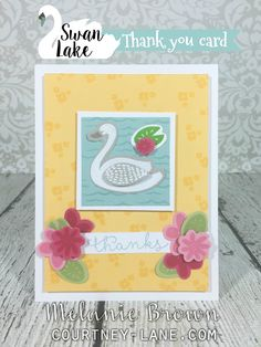 Hello, friends!   I hope you all had a wonderful weekend!   Today, I have another card that I made using the Thankful For You thincut dies...