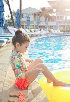 Sherbet Swimsuit by Amber - jujubunnyshop