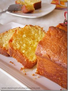 Orange cake recipe: a delicious and great classic from French pastry cookbook. Three recipes including famous French pastry chefs and French mum easy recipe Thermomix Desserts, Köstliche Desserts, Dessert Recipes, Pound Cake Recipes, French Pastries, Pastry Cake, Savoury Cake, Chocolate Recipes, Sweet Recipes