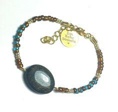 DW Boho Jewels bracelet - brown sugar door DWBohoJewels op Etsy