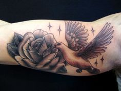 Dove tattoo designs as a well-known symbol of love - Page 13 of 30