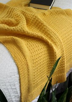 I'm so happy to announce my new blanket knitting pattern - Making Plans . This blanket design features an easy to remember four-row repeat and a seed stitch border. The pattern includes instructions for six blanket sizes. Knitted Throw Patterns, Knitted Afghans, Knitted Blankets, Knitting Patterns, Stitch Patterns, Knitting Terms, Knitting For Charity, Circular Knitting Needles, Purl Stitch