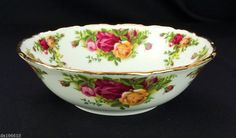 Rare Royal Albert Old Country Roses 16cm Bowl 1st Quality 1973-93 VGC