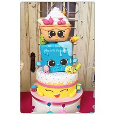 Shopkins Cake Party