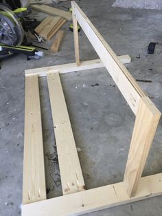 DIY Toddler Bed Rail   Step 3   Completed 2