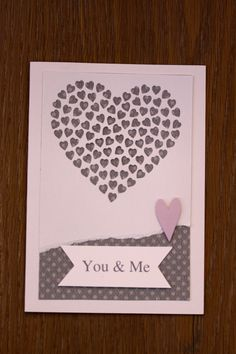 Love card for Valentine's day