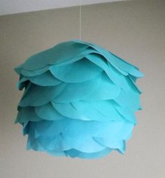 Paper Lantern DIY kit pick your own color 10inch by CreateItGirl, $10.00