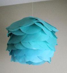 Chinese lantern 5 1/2 in tissue paper circles di CreateItGirl