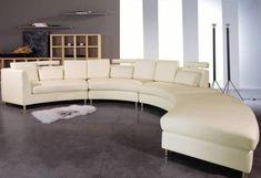 Curved Sofa UK 10 Photos image and description - DesignWalls.com Curved Corner Sofa, Curved Couch, Sofa Uk, Sectional Sofa, Italian Furniture Stores, Large Sofa, Leather Sofa, Modern Bedroom, Contemporary Furniture