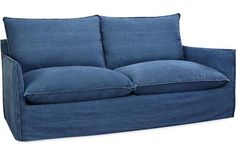 """Lee Industries - Slipcovered Apartment Sofa The maker of the discontinued """"oasis"""" sofa from Crate & Barrel"""