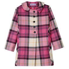 Girls tartan jacket