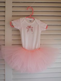 Yelley's Bellies ballet slipper tutu outfit.  www.facebook.com/YelleysBellies  www.YelleysBellies.com