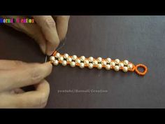 How To Make Super Light Pearl Beads Bracelet Making DIY Jewelry Making At Home – You … - Jewelry Diy and Making Simple Jewelry, I Love Jewelry, Pearl Jewelry, Beaded Jewelry, Handmade Jewelry, Pearl Bracelet, Pearl Rings, Strand Bracelet, Gold Jewelry