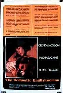 The Romantic Englishwoman (1975)-Glenda Jackson, Michael Caine, and Helmut Berger.  I like the way they use music to set the tone and mood and not so much dialogue