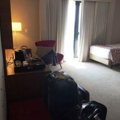 Quarto Hotel Radisson Faria Lima