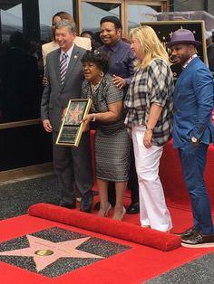 Shirley Cesaer Gospel star gets her Hollywood Star | Durham Cool
