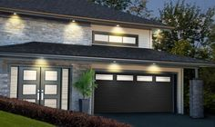 Modern garage modern garage door modern 2 car garage for 15 x 8 garage door