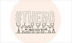 After graduating from art college, Jamie Wieck realized that he had no clue about professional life. So, he started #The50 to help students and graduates in the same situation learn what every creative should know. The tips are made up of 140 characters and a hash tag, making them easy to share on Twitter.
