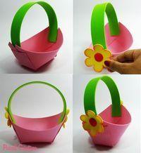 Disney Crafts For Kids, Foam Crafts, Easter Crafts For Kids, Craft Stick Crafts, Diy For Kids, Crafts To Make, Paper Crafts, Jungle Theme Birthday, Basket Crafts