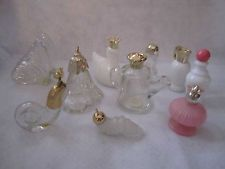 Vintage Avon Bottle Lot of 10 Squirrel Snail Swan Flower Watering Can Butterfly