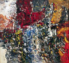 Jean Paul Riopelle, Baubesse 2, 1956, huile sur toile, 204 x 220 cm