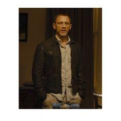 Skyfall Daniel Craig (James Bond) Leather Jacket