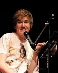 Bo Burnham! Smart, funny, friendly, sweet, from MA, AND he's the closest to my age compared to all the other guys I have a crush on :P