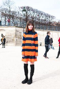 great stripes. Paris.