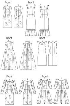 Vogue Patterns 8766 - MIsses Dress
